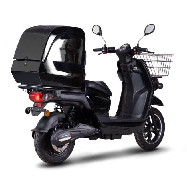 scooter électrique de livraison rider pro cargo confortable inusable