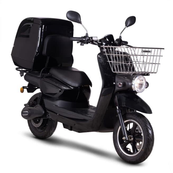 scooter électrique de livraison rider pro cargo pratique en ville