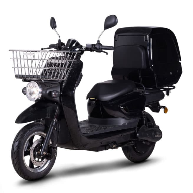 scooter électrique dépanneur dépannage coursier panier livraison rider pro cargo