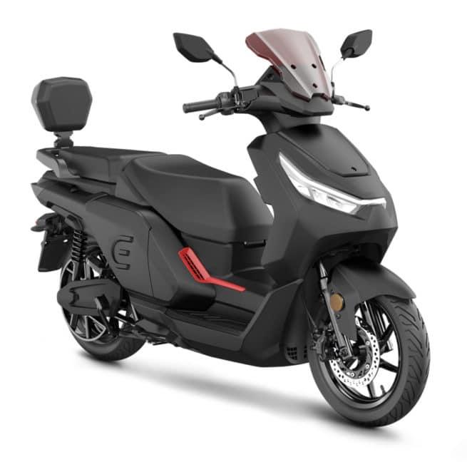 red electric e50 e100 scooter électrique grande autonomie
