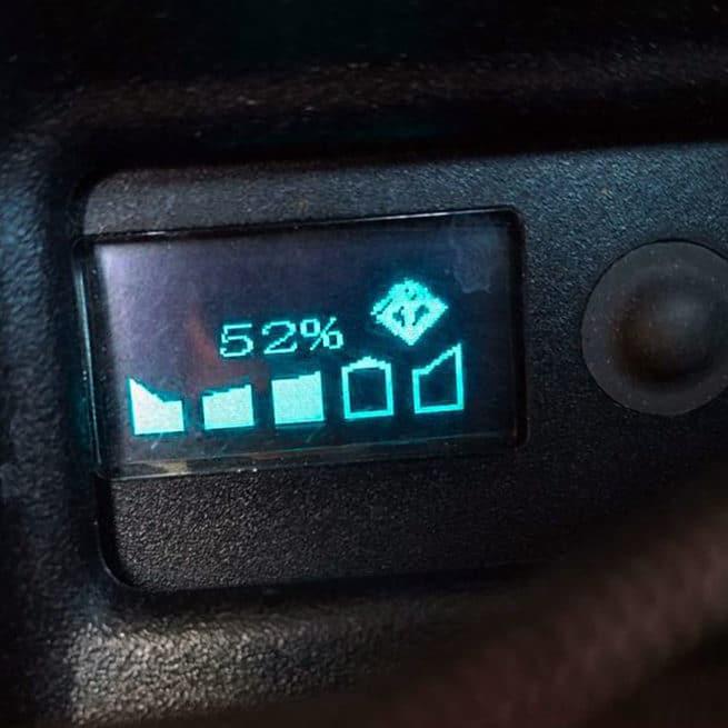 batterie sur-ron niveau autonomie
