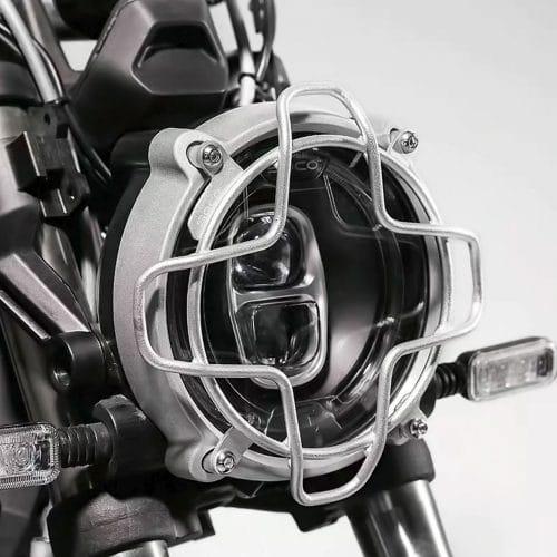 grille phare super soco tc max sur la moto