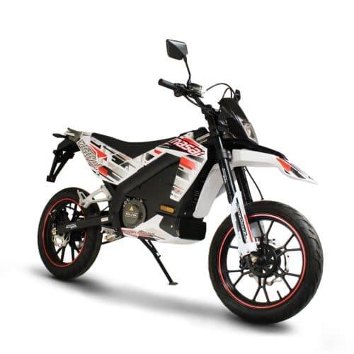 Masai Vison 3000W moto electrique supermotard grande autonomie 50cm3