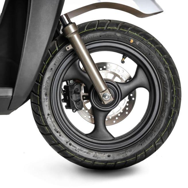 silence S02 LS roue avant scooter électrique espagnol