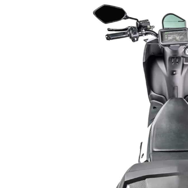 Silence S02 LS vue du dessus scooter électrique européen