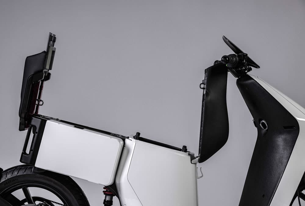 wow model 4 scooter électrique grand coffre