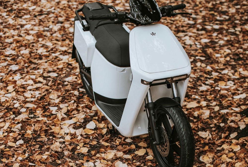 wow model 4 scooter électrique batterie amovible