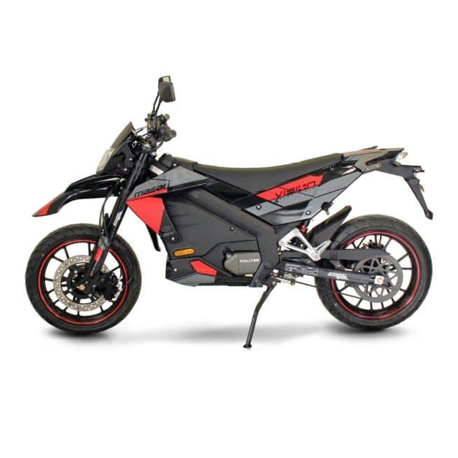 Masai Vison 5000W moto electrique supermotard lycée travail emploi fac ktm