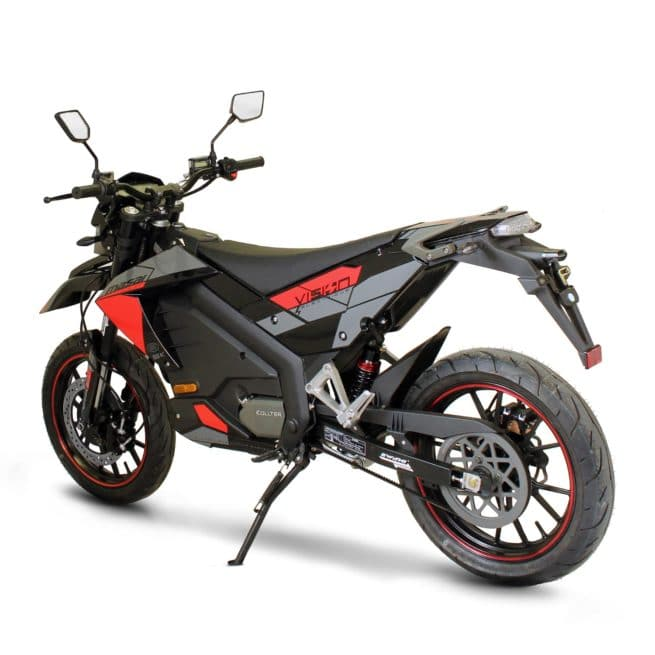 Masai Vison 5000W moto electrique supermotard silencieux ktm
