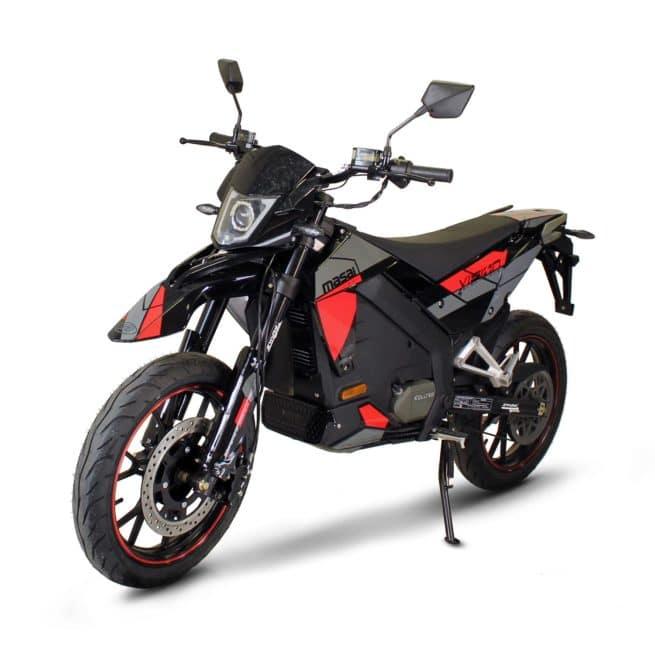 Masai Vison 5000W moto electrique supermotard frein à disque