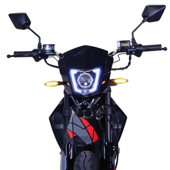 Masai Vison 5000W moto electrique supermotard grande autonomie 125 cm3