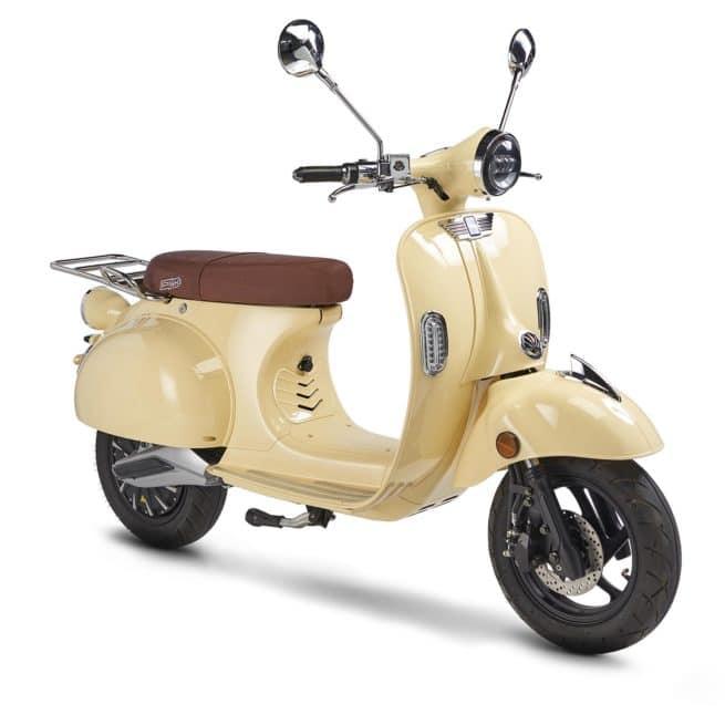 Pink Mobility Pink style plus scooter electrique 125cm3 16 ans permis A1 accessible vespa