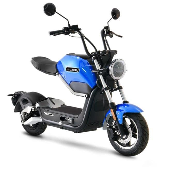 Sunra Miku Max scooter electrique batterie sans effort lithium ion pratique