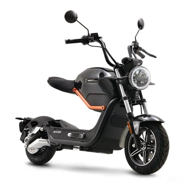 Sunra Miku Max scooter electrique économique crit air 0 zéro