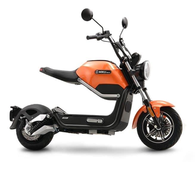 Sunra Miku Max scooter electrique écologique