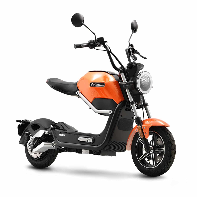 Sunra Miku Max scooter electrique grande autonomie 50cc 50cm3