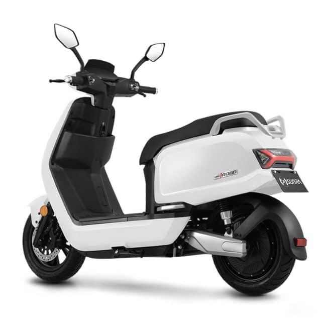 Sunra Robo scooter electrique batterie sans effort lithium ion pratique
