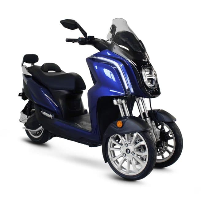 Rider 3R 3RS 3 roues scooter électrique trois roues top box paris lille nantes lyon marseille rennes bordeaux cannes pau