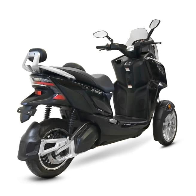 Rider 3R 3RS 3 roues scooter électrique trois roues jeune femmme homme pratique léger maniable