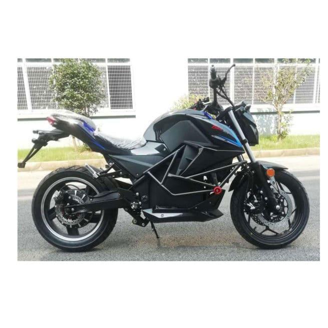 moto electrique roadster 125cm3 rapide autonomie gros cube