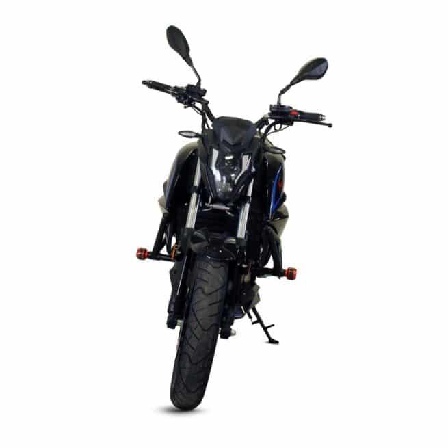 ebroh bravo gle moto electrique roadster jeune femmme homme pratique léger maniable