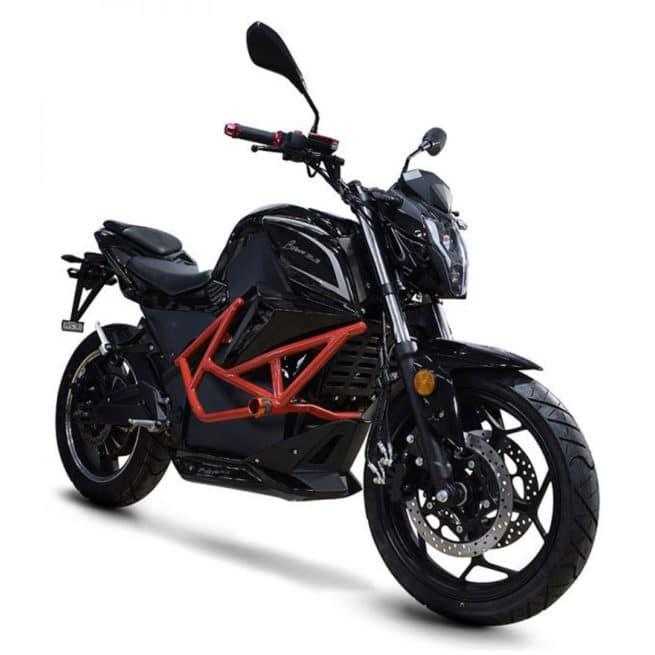 ebroh bravo gle pro moto electrique roadster jeune femmme homme pratique léger maniable