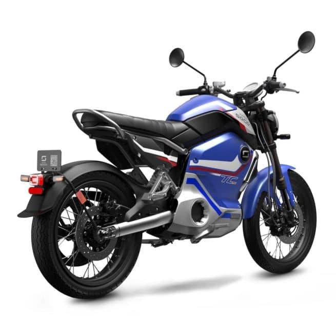 Super Soco TC MAX PRO édition limitée moto électrique autoroute