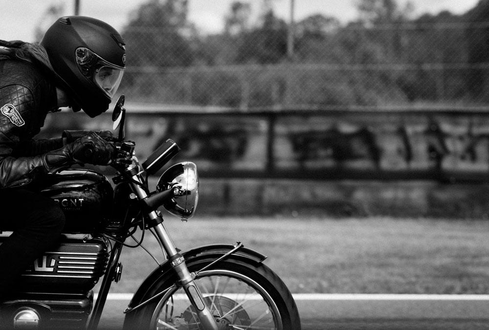moto électrique sur circuit