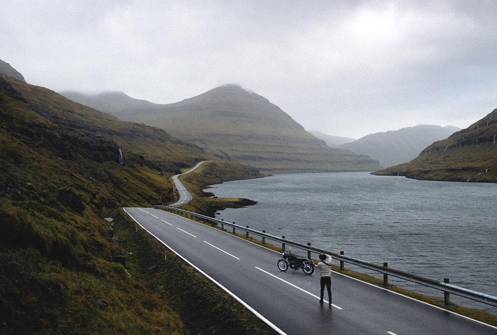 Moto électrique voyage grand nord