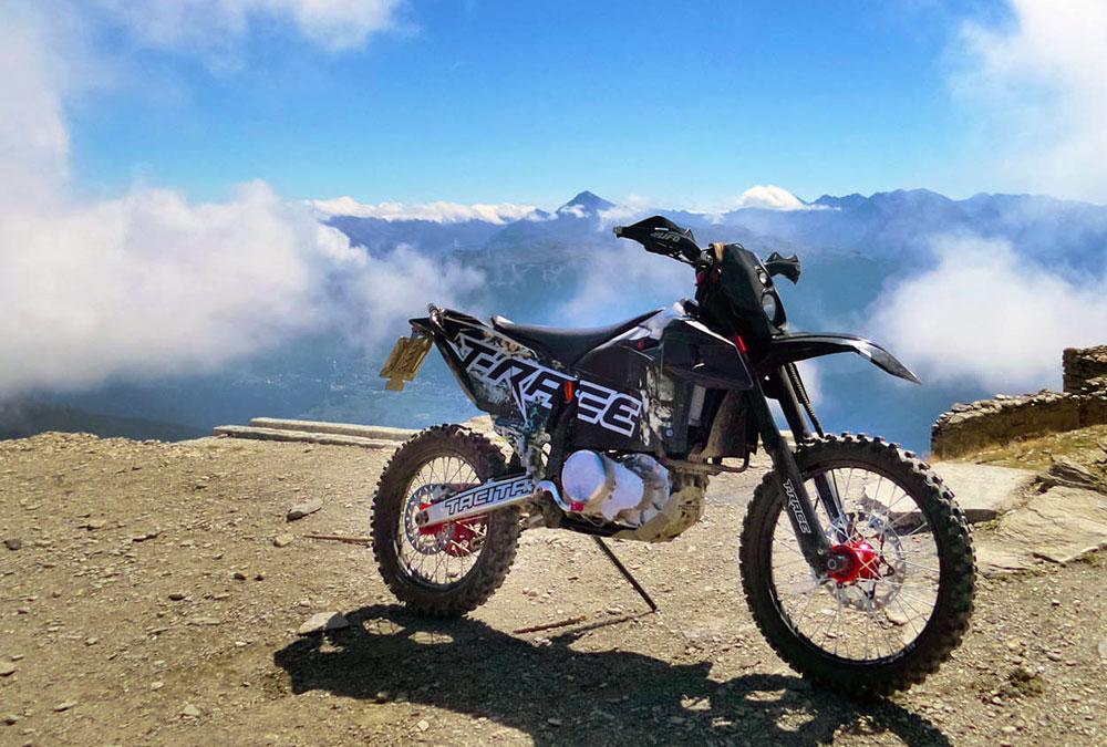 tacita motocross électrique