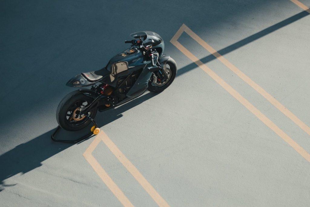 Deus ex Machina custom de la Zero Motorcycles SR/S