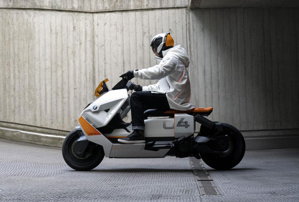 BMW CE 04 scooter électrique
