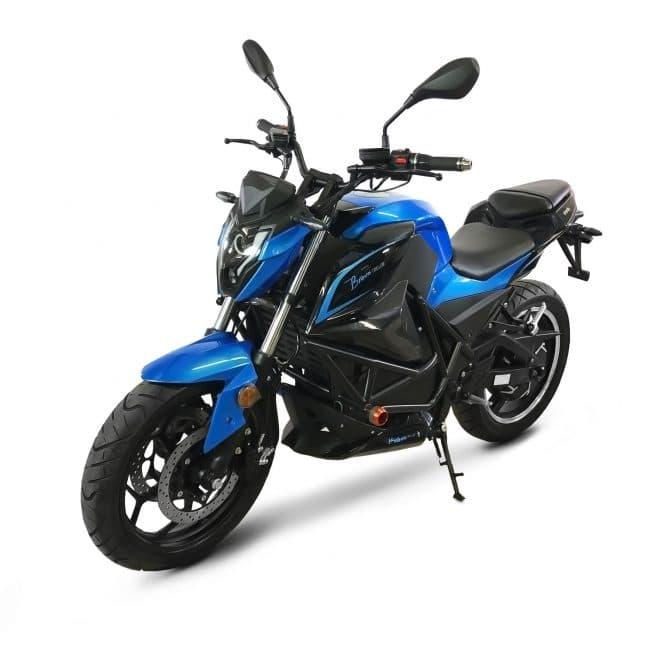 ebroh bravo gle pro moto electrique roadster frein à disque