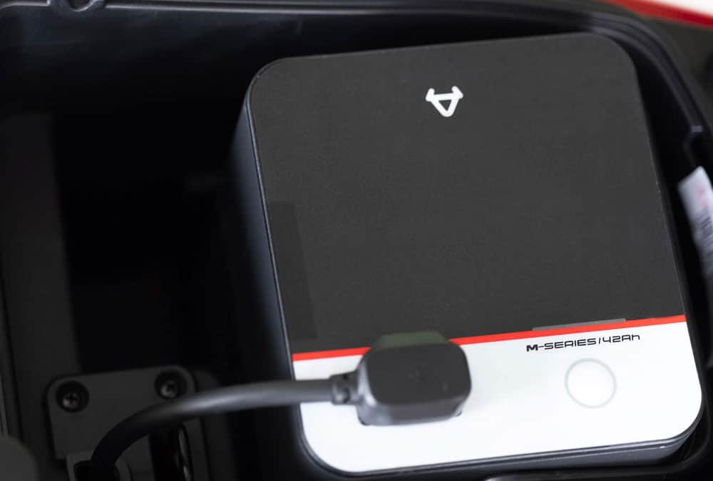 scooter électrique batterie lithium ion