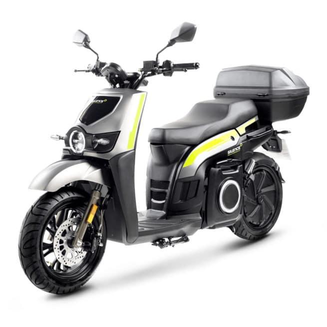 silence s02 HS 2021 scooter de livraison