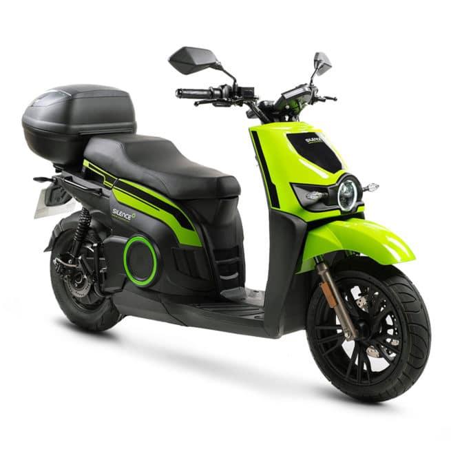 silence s02 hs vert noir scooter électrique 125 livraison