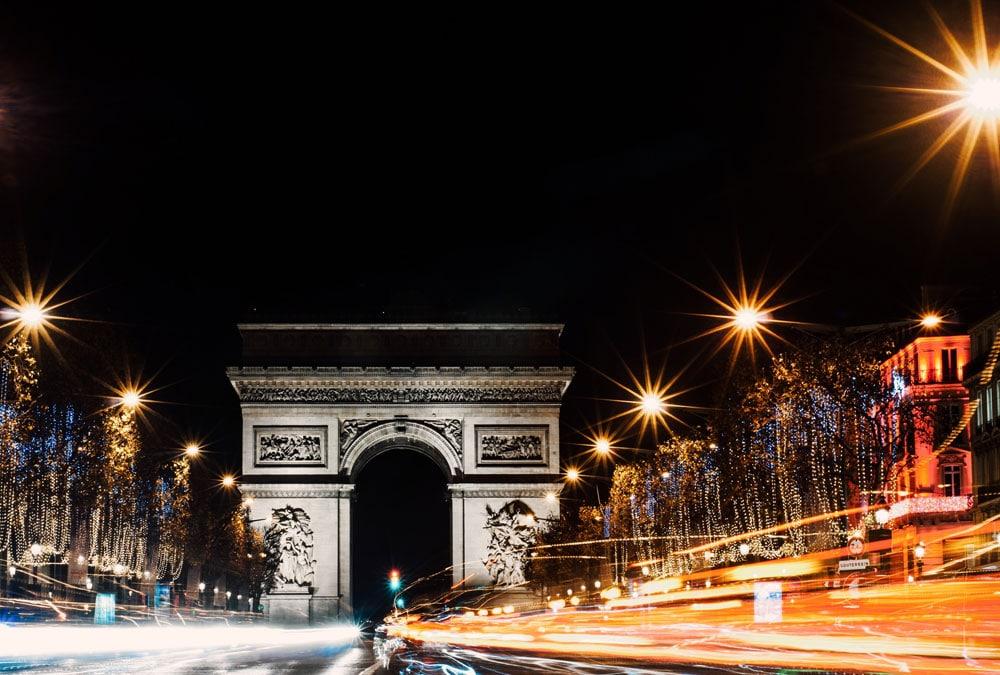 zfe circulation paris arc de triomphe