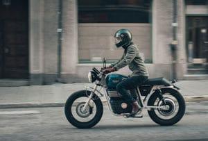 RGNT scrambler moto électrique