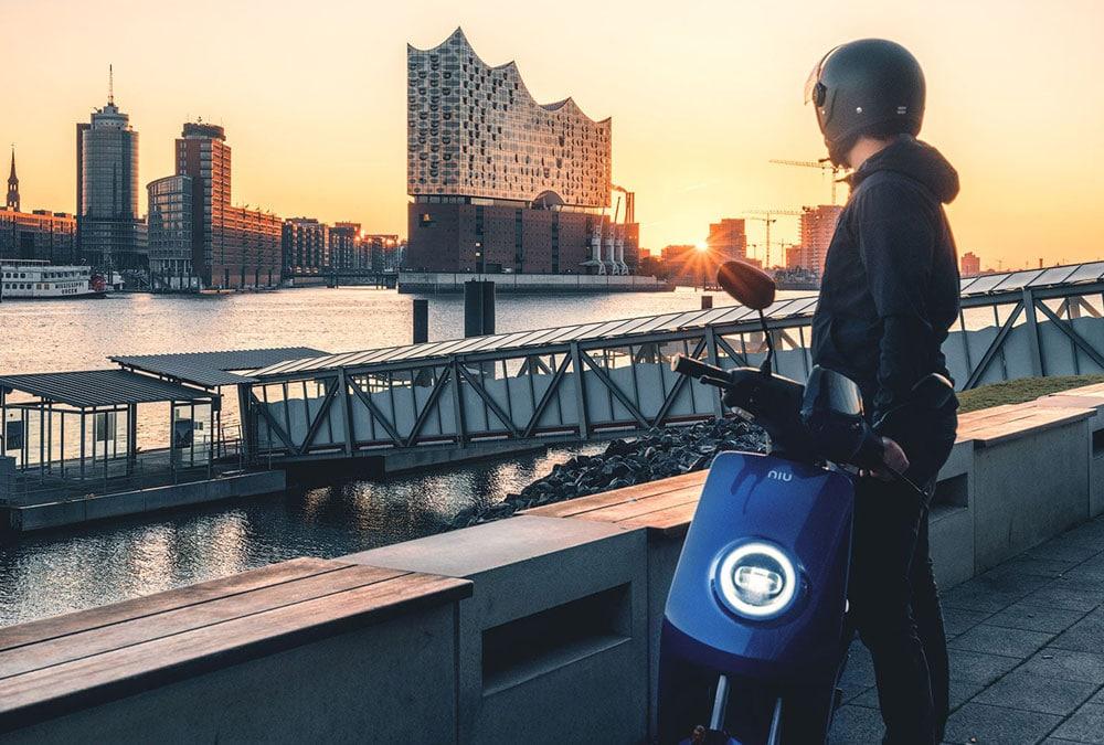 scooter électrique pour aller au travail