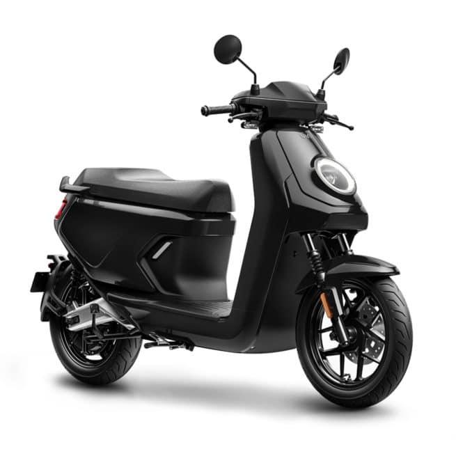 niu mqi gt noir scooter électrique livraison gratuite france à domicile