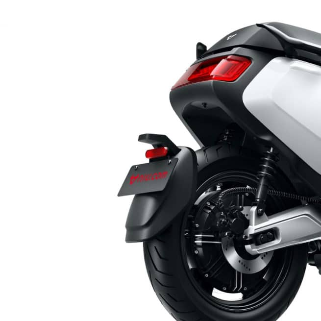 Niu MQi GT support de plaque garde boue arrière