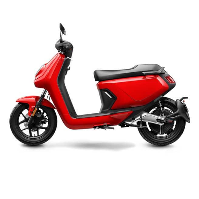 niu mqi gt rouge scooter électrique permis B