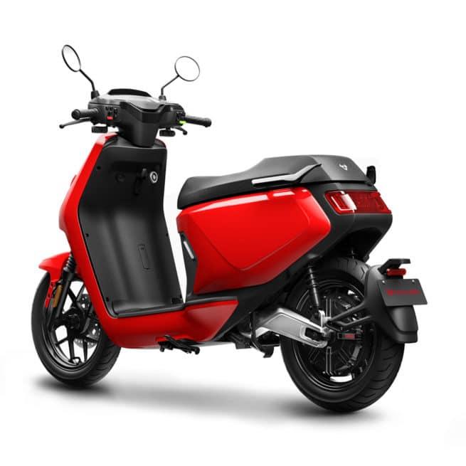 niu mqi gt rouge scooter électrique 125
