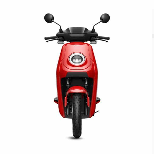 niu mqi gt rouge scooter électrique pour la ville