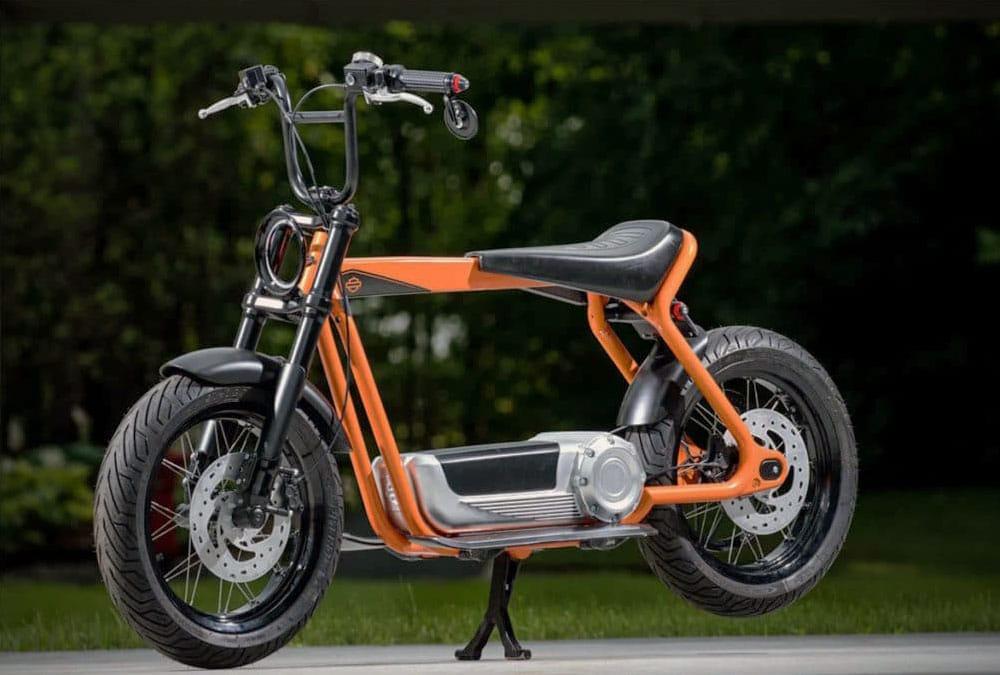 harley davidson scooter électrique