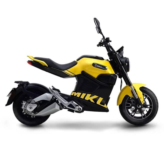 sunra miku super mini moto électrique homologuée