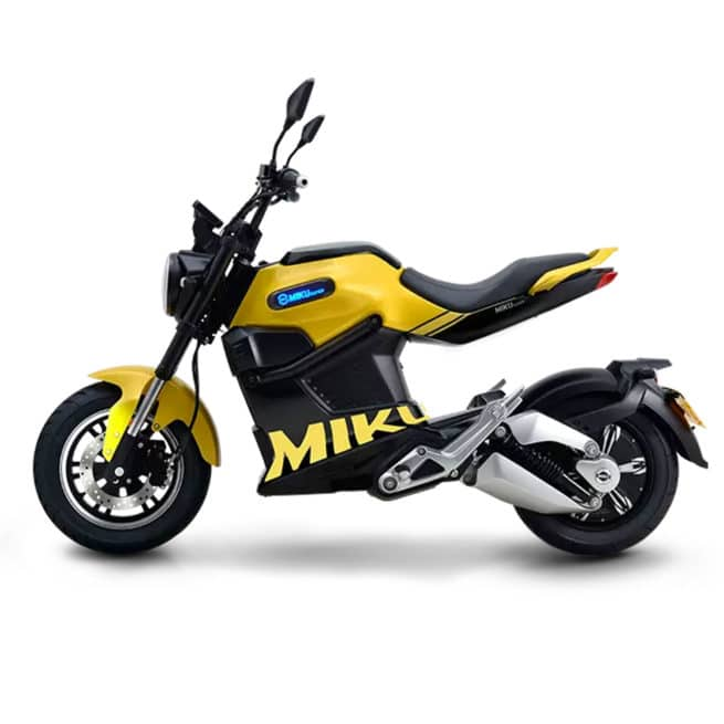 sunra miku super moto électrique 16 ans lycée ville