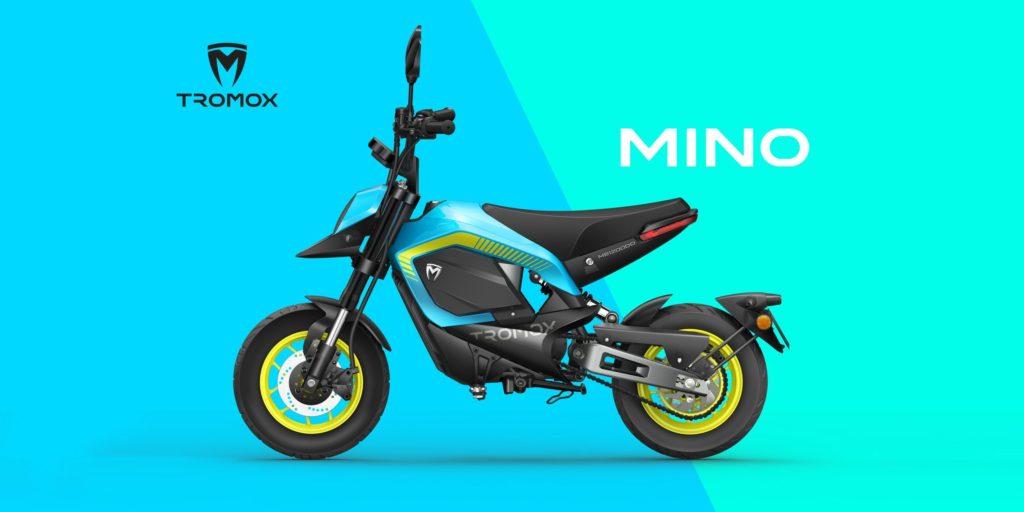 Tromox Mino mini moto électrique