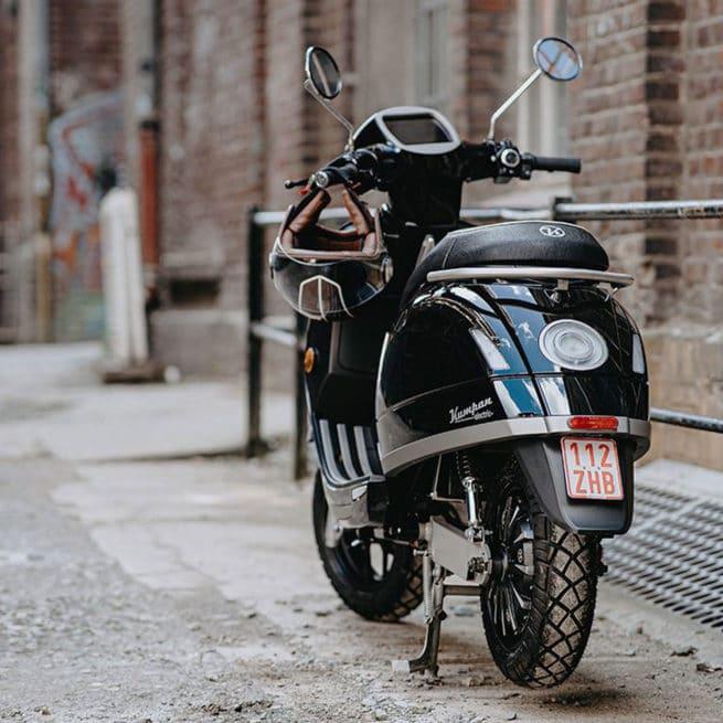 kumpan 54 iconic scooter électrique