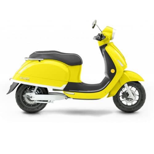 kumpan 54 inspire scooter électrique jaune